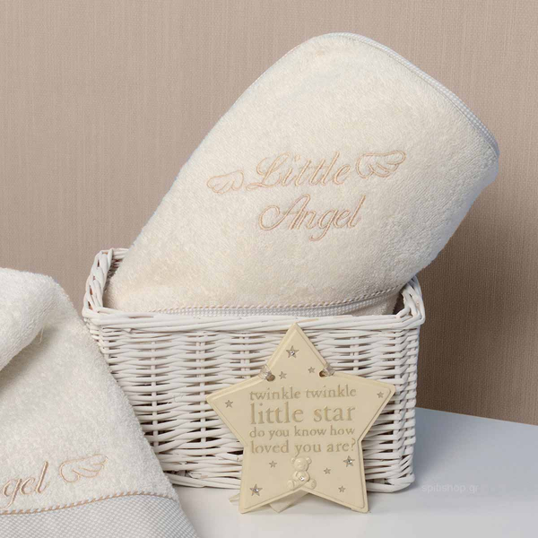 Βρεφική Κάπα Baby Oliver Little Angel Beige 320