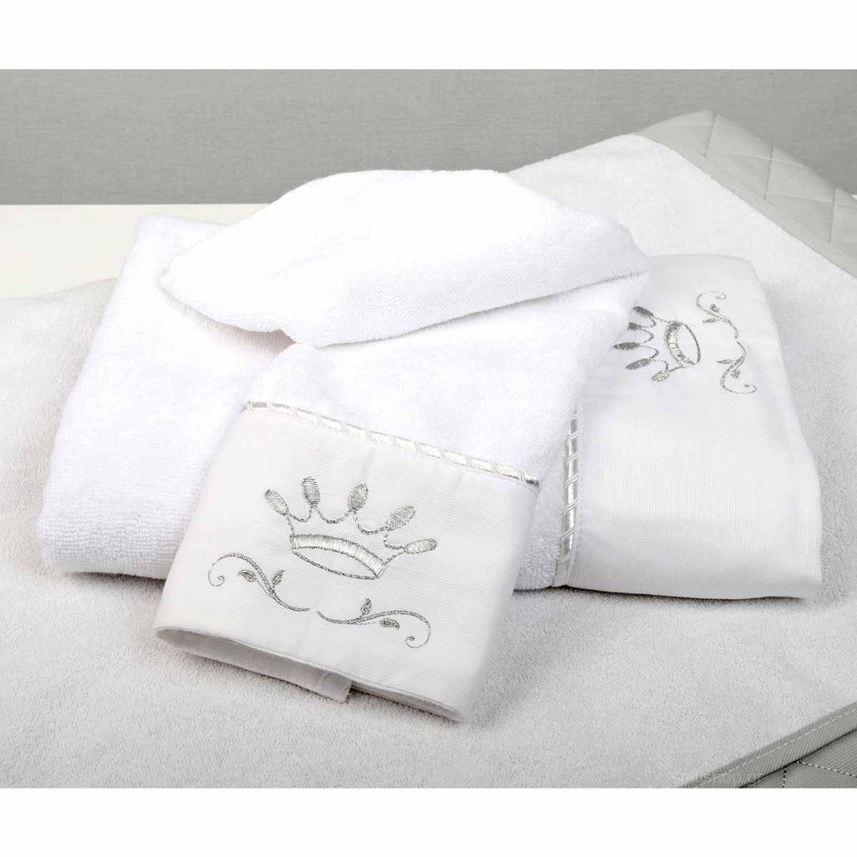 Βρεφικές Πετσέτες (Σετ 2τμχ) Baby Oliver Royal Grey 331