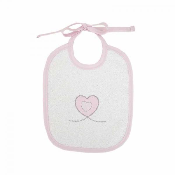 Σαλιάρα Baby Oliver Sweet Hearts 332