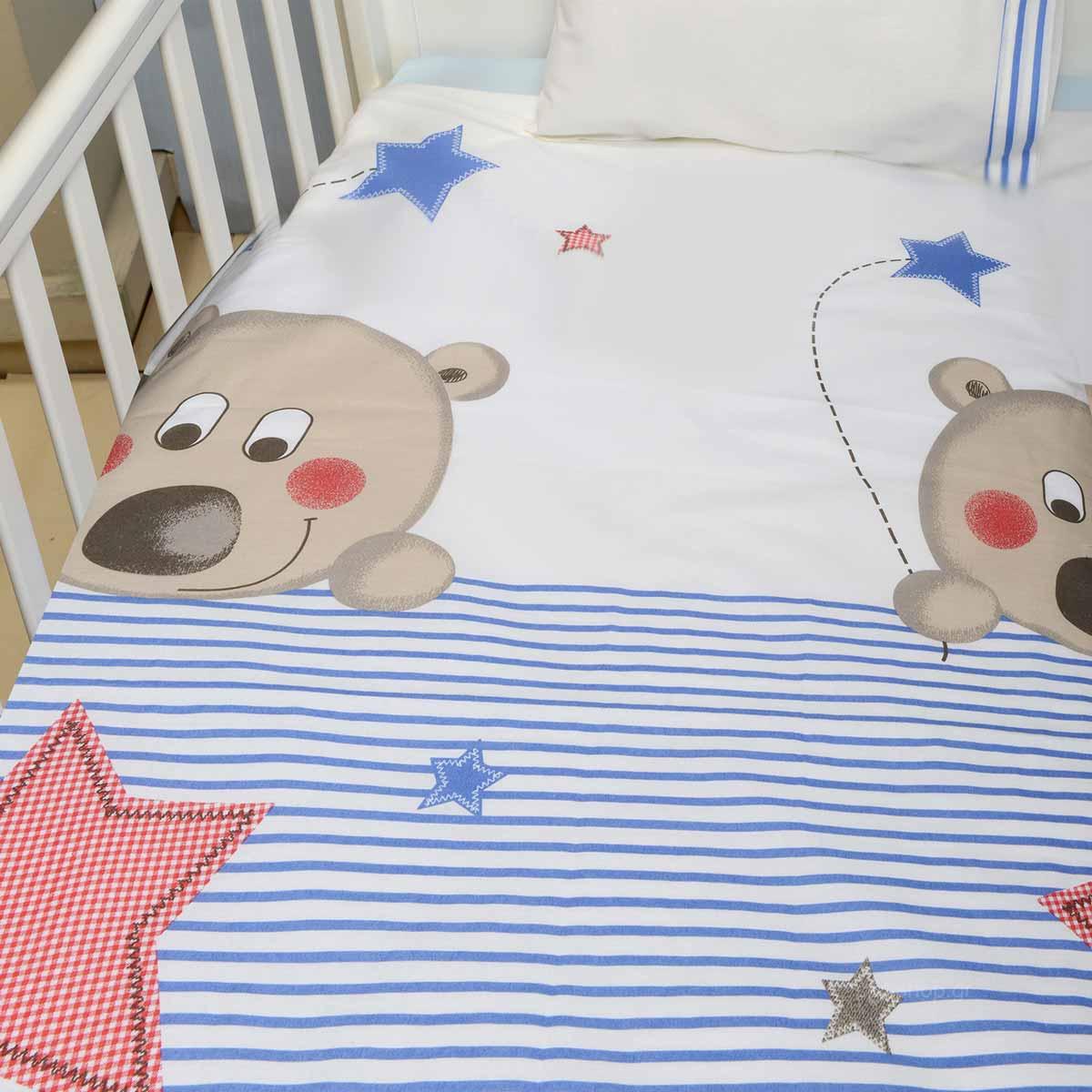 Σεντόνια Κούνιας (Σετ) Baby Oliver Des 160