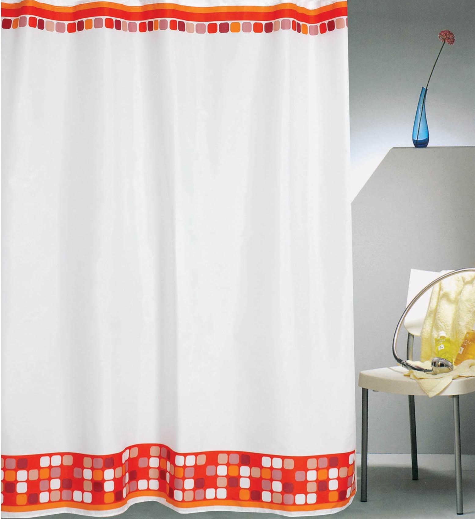 Κουρτίνα Μπάνιου (180×180) Με Τρουκς San Lorentzo Attention