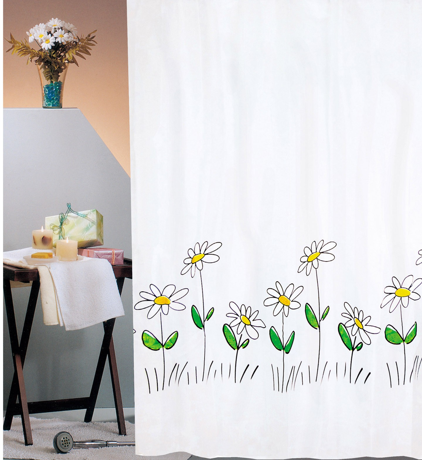 Κουρτίνα Μπάνιου (180x180) San Lorentzo Spring