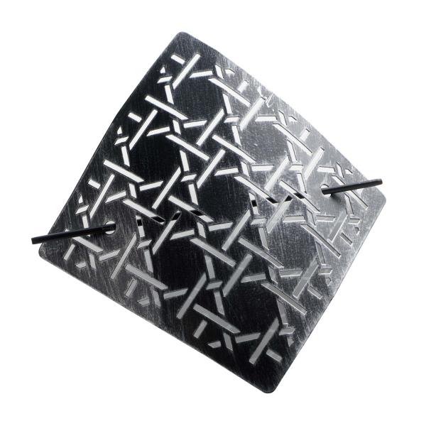 Δέστρα Κουρτίνας Φουρκέτα Bobix Black/Silver 1900370
