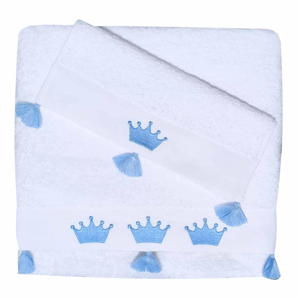 Βρεφικές Πετσέτες (Σετ 2τμχ) Morven Prince Blue 1809/05