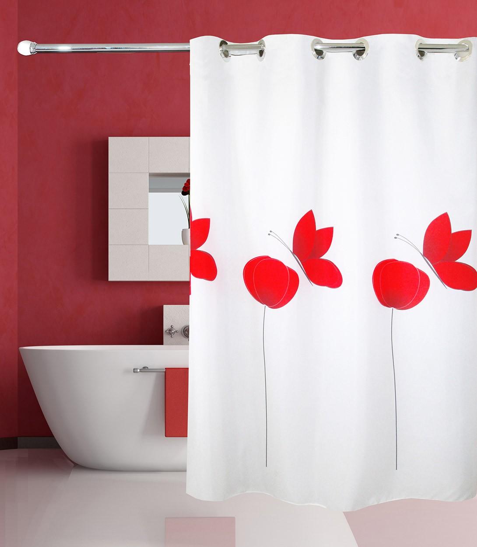 Κουρτίνα Μπάνιου Με Τρουκς San Lorentzo Poppy