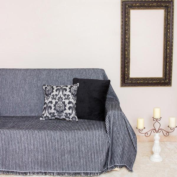 Ριχτάρι Πολυθρόνας (180x180) Loom To Room Kottle Black