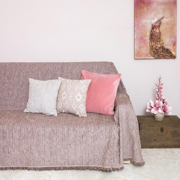 Ριχτάρι Πολυθρόνας (180x180) Loom To Room Kottle Mocca