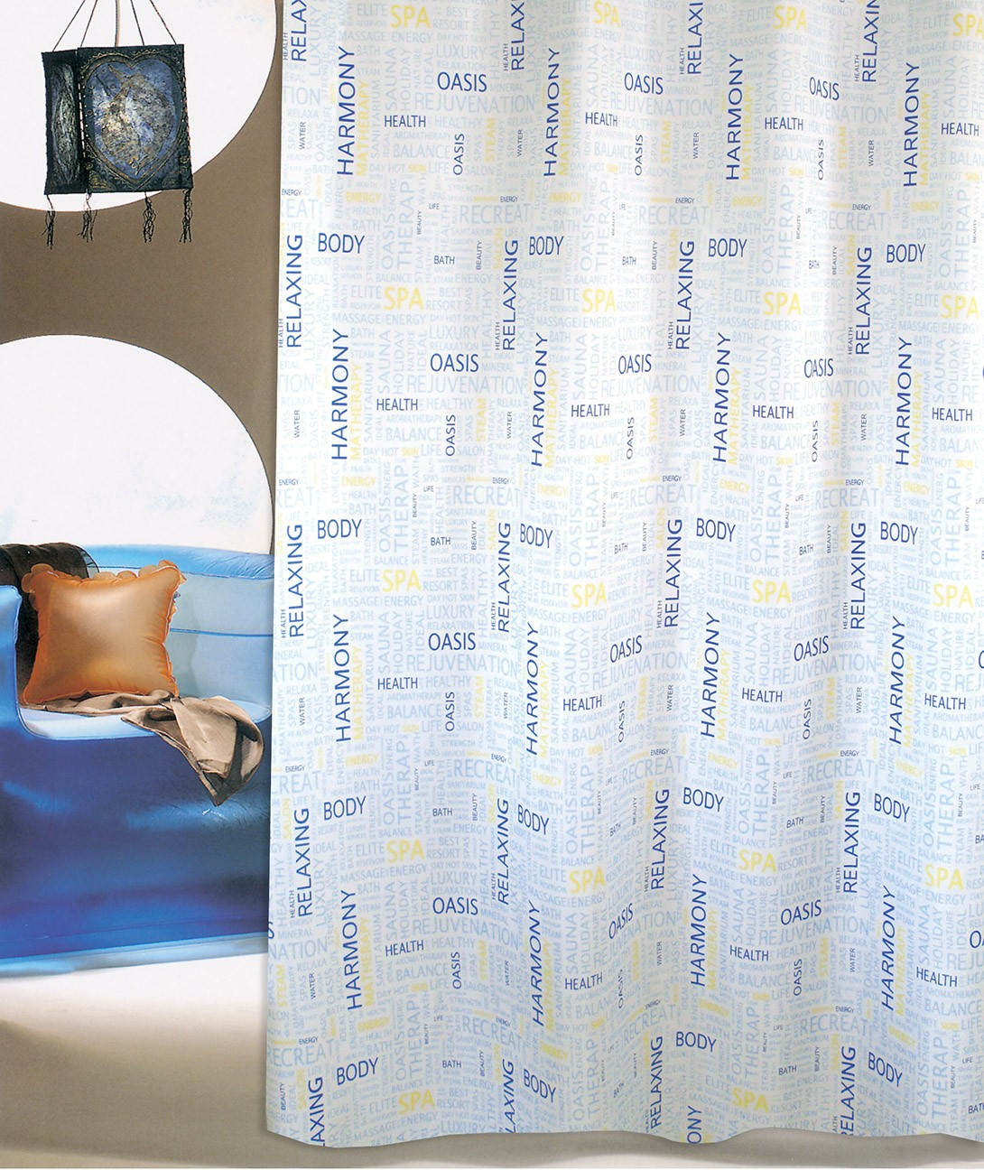 Κουρτίνα Μπάνιου (180x180) San Lorentzo S-4463