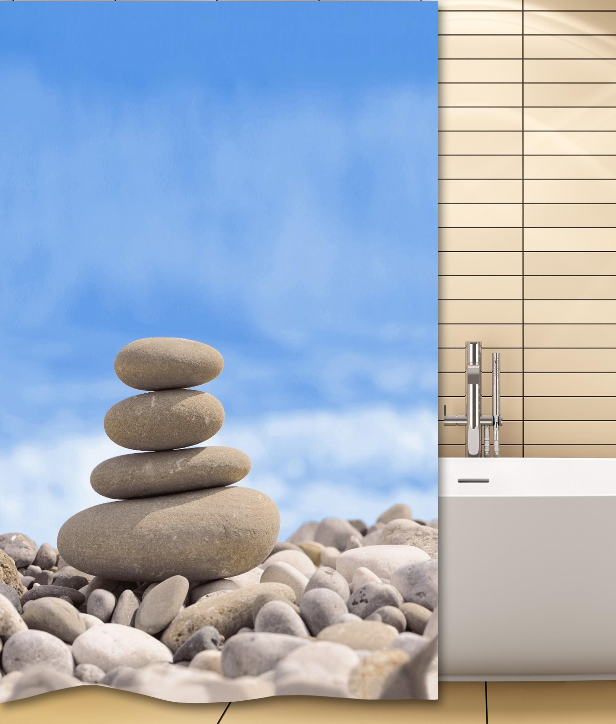 Κουρτίνα Μπάνιου San Lorentzo Stone