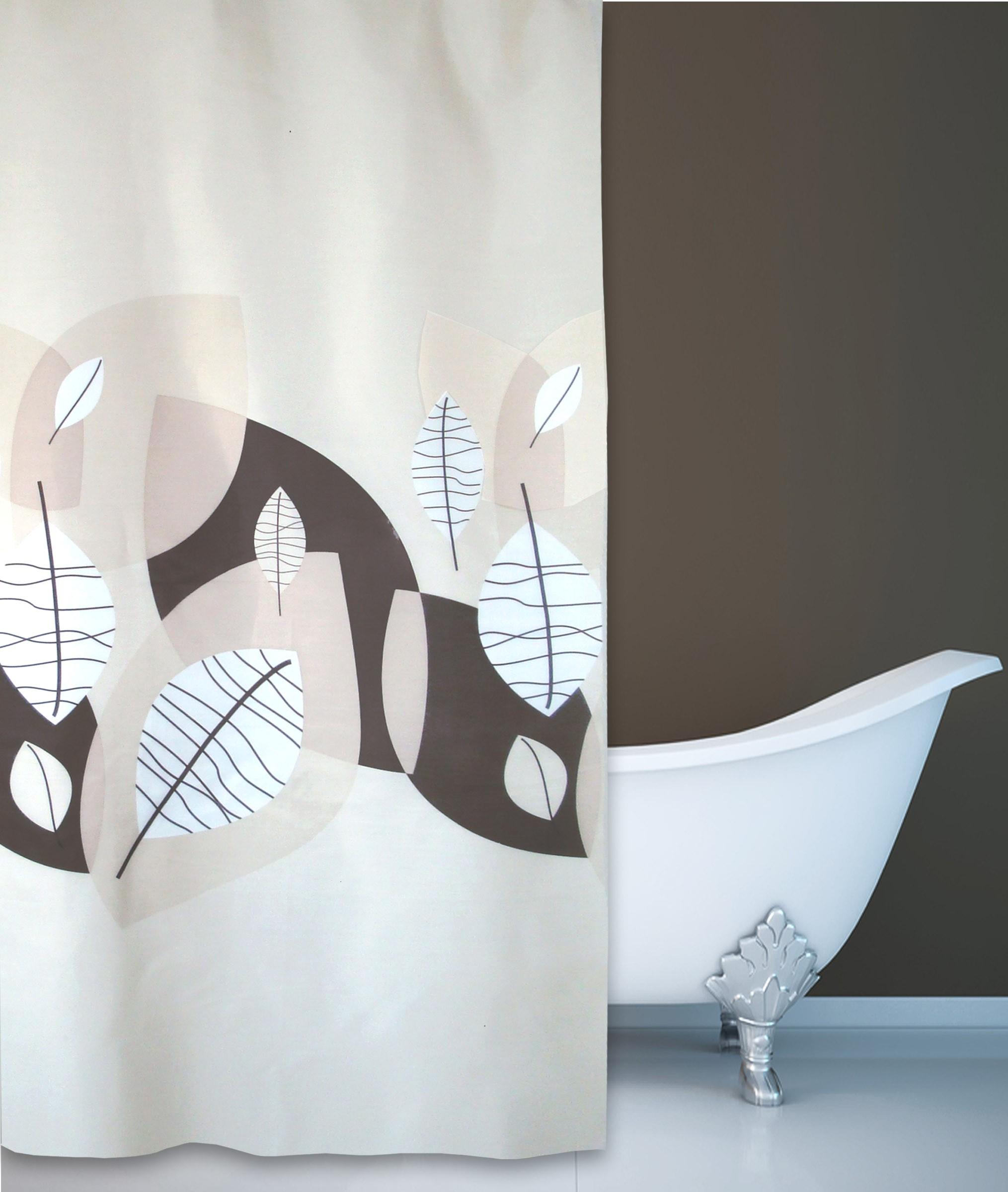 Κουρτίνα Μπάνιου (180x180) San Lorentzo Tierra Brown