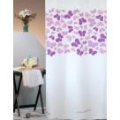 Κουρτίνα Μπάνιου (180×180) San Lorentzo Butterflies Purple