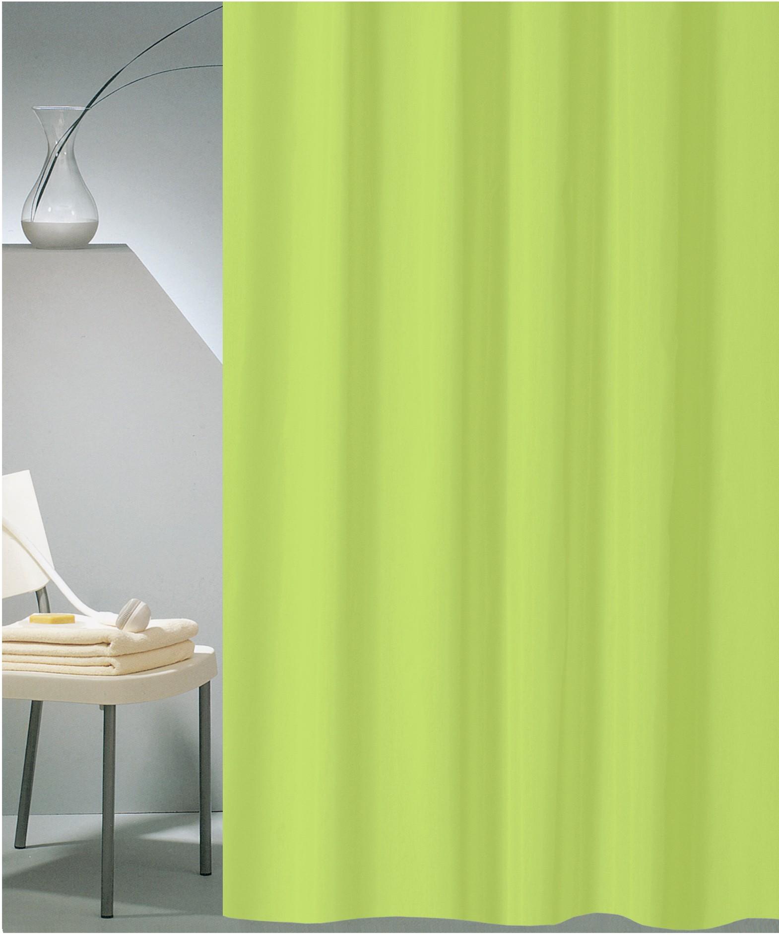 Κουρτίνα Μπάνιου (180×200) San Lorentzo Solid Lime