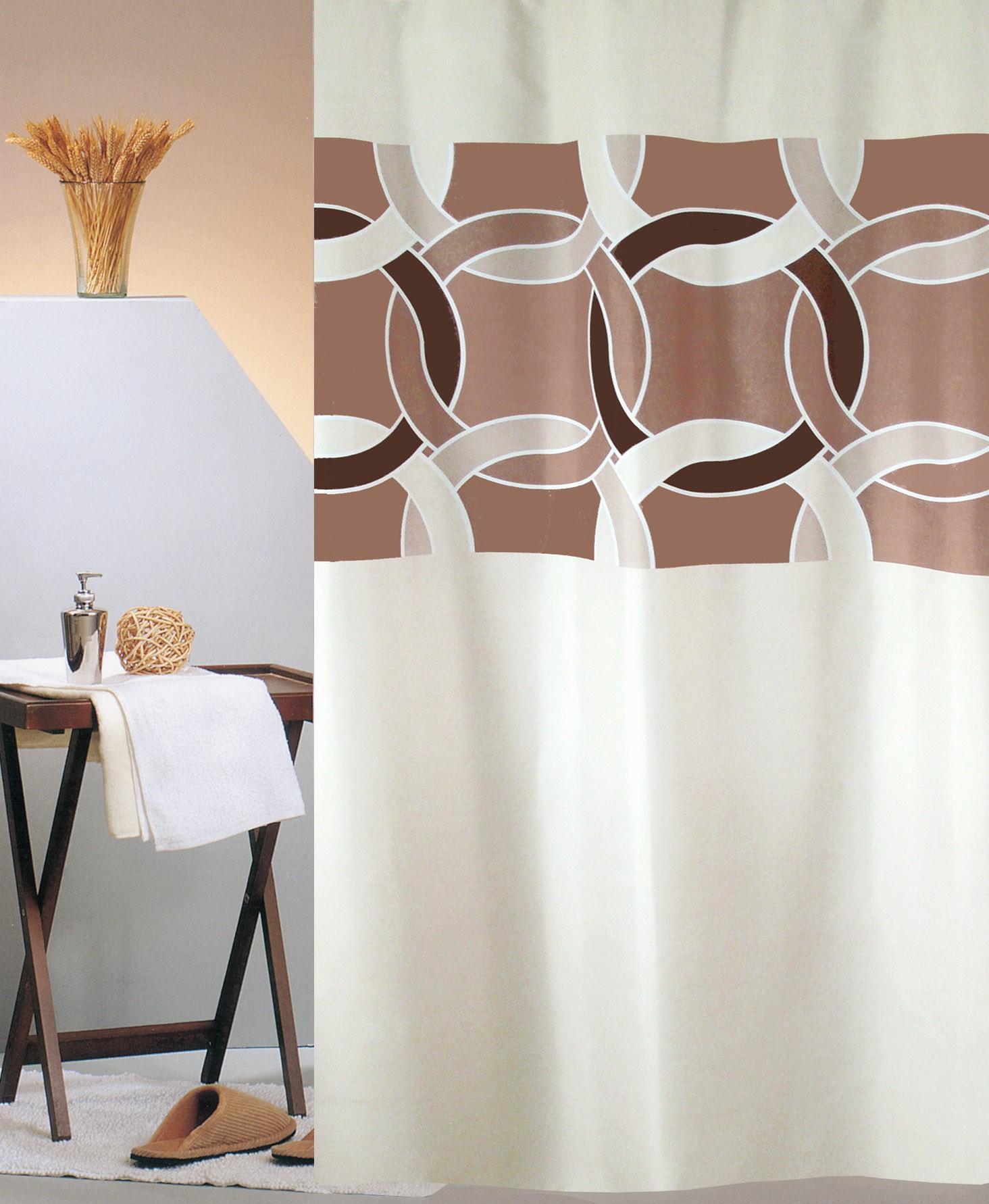 Κουρτίνα Μπάνιου (180×200) Με Κρίκους San Lorentzo Circles