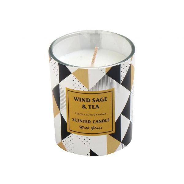 Αρωματικό Κερί 90gr Espiel Wind Sage And Tea COC112