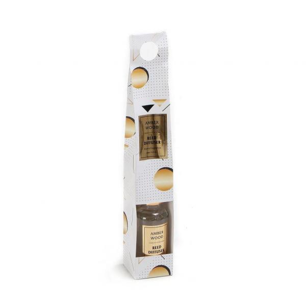 Αρωματικό Χώρου 50ml Με Στικς Espiel Amber Wood COC115