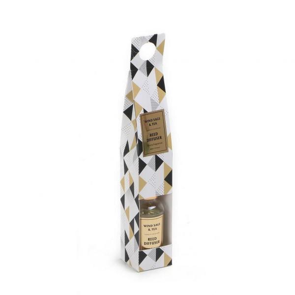Αρωματικό Χώρου 50ml Με Στικς Espiel Wind Sage And Tea COC116