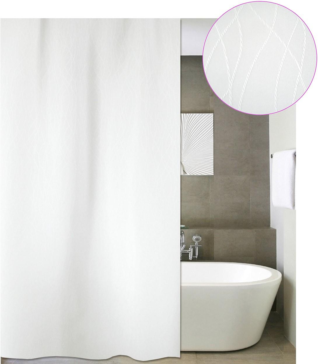 Κουρτίνα Μπάνιου (180×220) San Lorentzo Berlin White