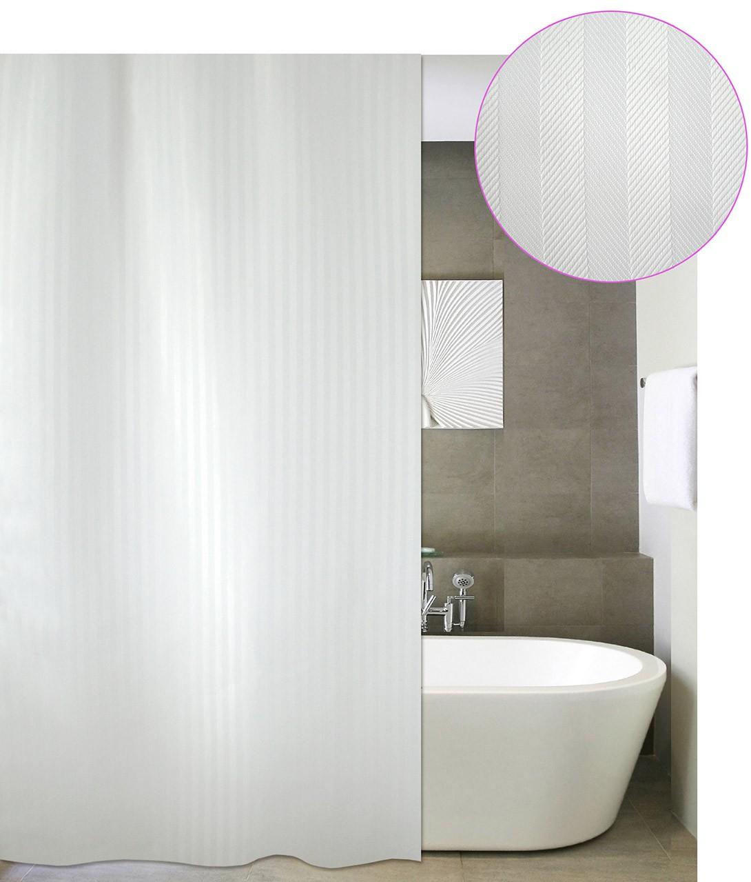 Κουρτίνα Μπάνιου (180x220) San Lorentzo Luxor White