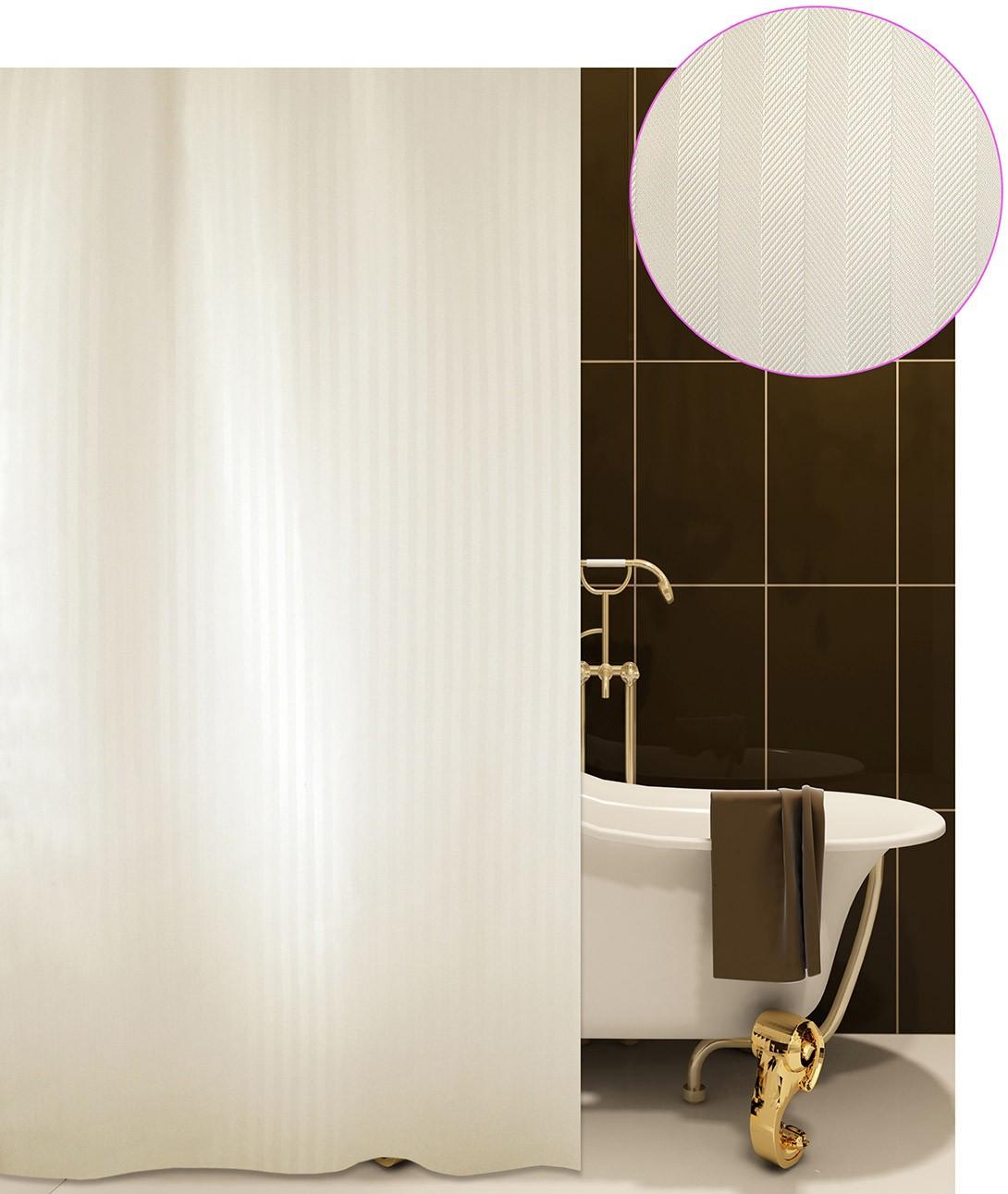 Κουρτίνα Μπάνιου (180x220) San Lorentzo Luxor Beige