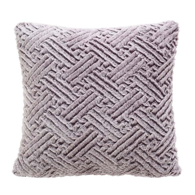 Γούνινο Διακοσμητικό Μαξιλάρι (40×40) InArt 3-40-575-0453