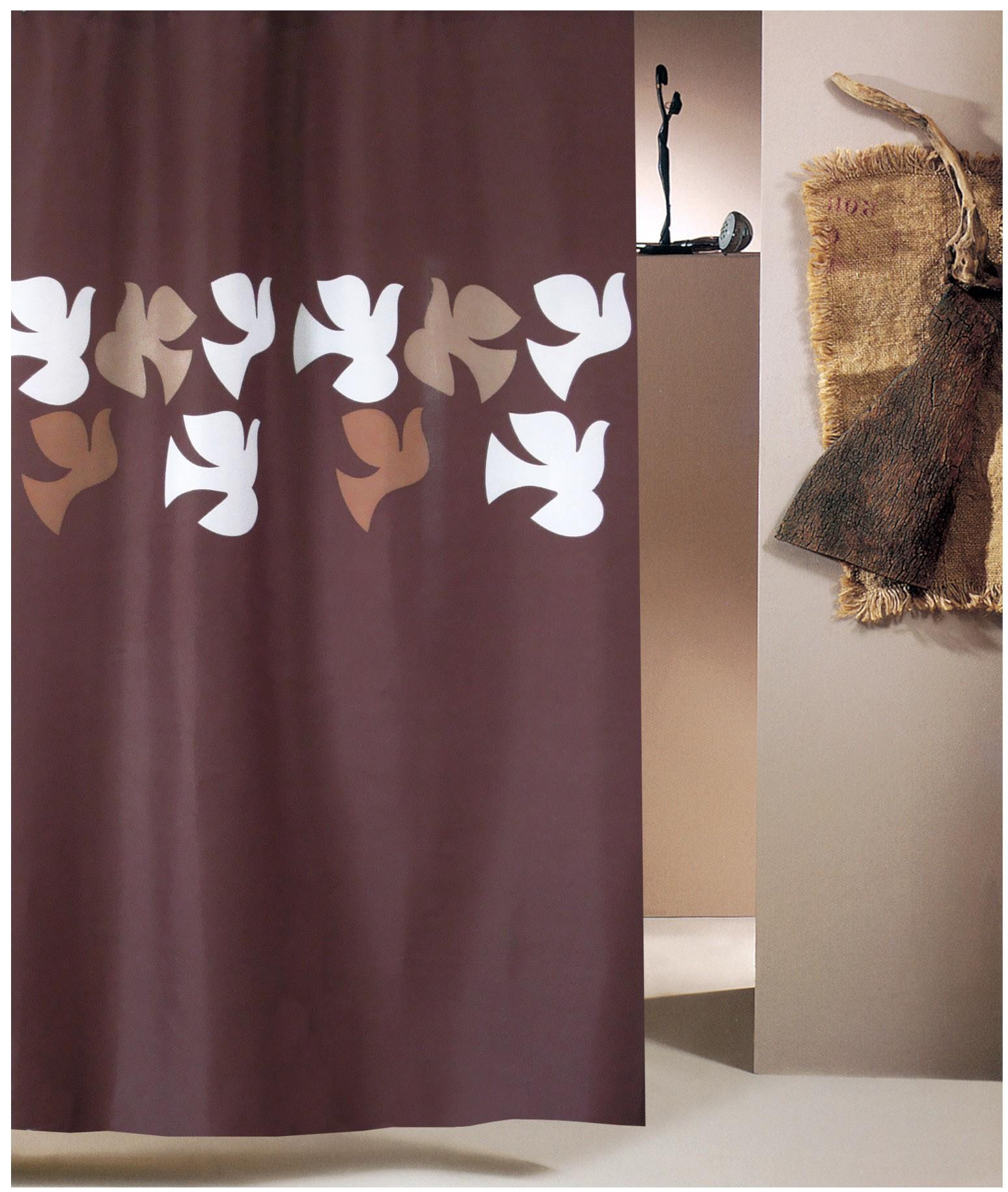 Κουρτίνα Μπάνιου (240x180) San Lorentzo Dove Brown