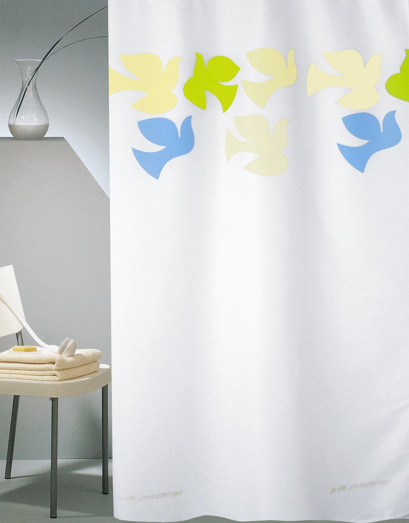 Κουρτίνα Μπάνιου (240x180) San Lorentzo Dove White