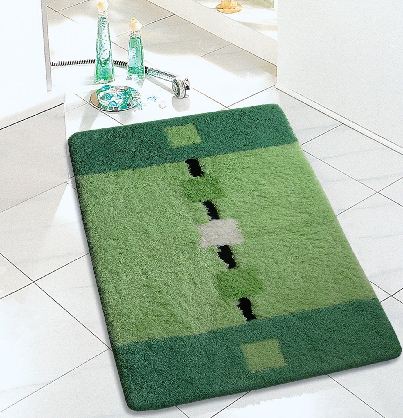 Πατάκι Μπάνιου (60×100) San Lorentzo FL-06044 Πράσινο