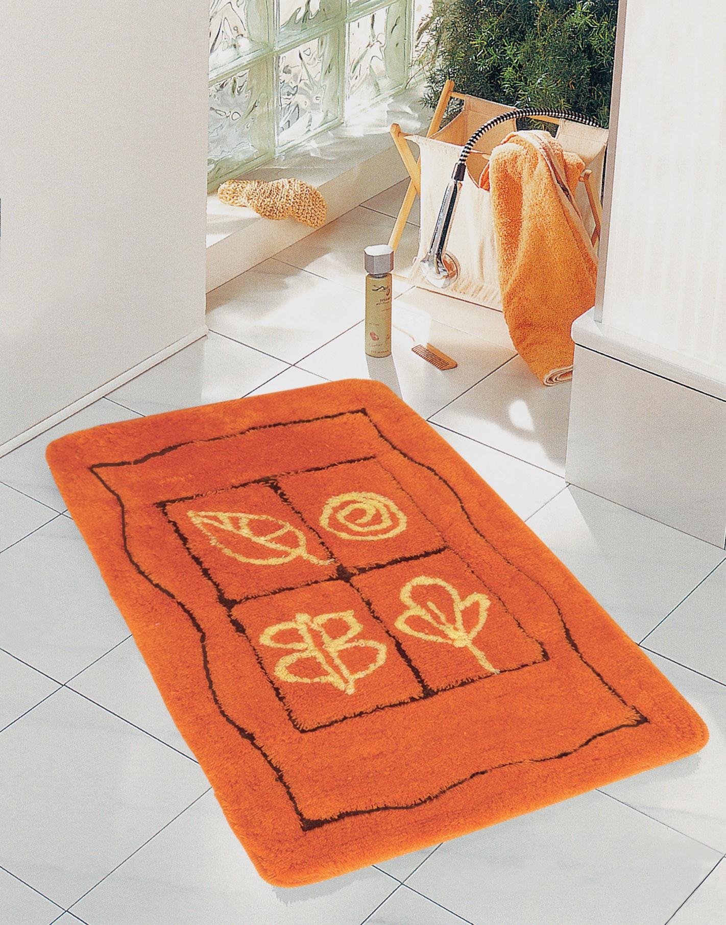 Πατάκι Μπάνιου (60x100) San Lorentzo Fantasia Orange