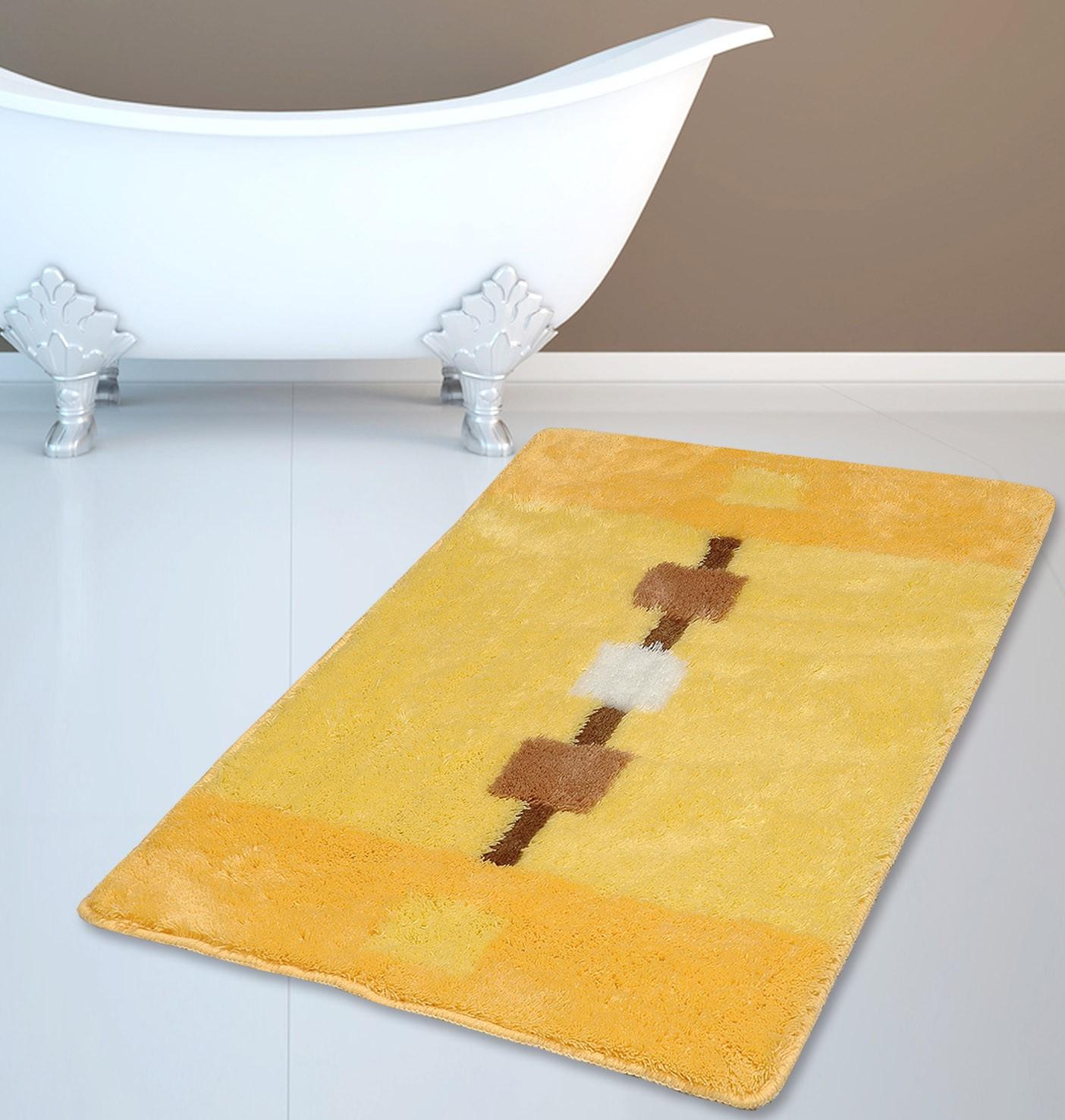 Πατάκι Μπάνιου (60x100) (60x100) San Lorentzo FL-06044 Κίτρινο
