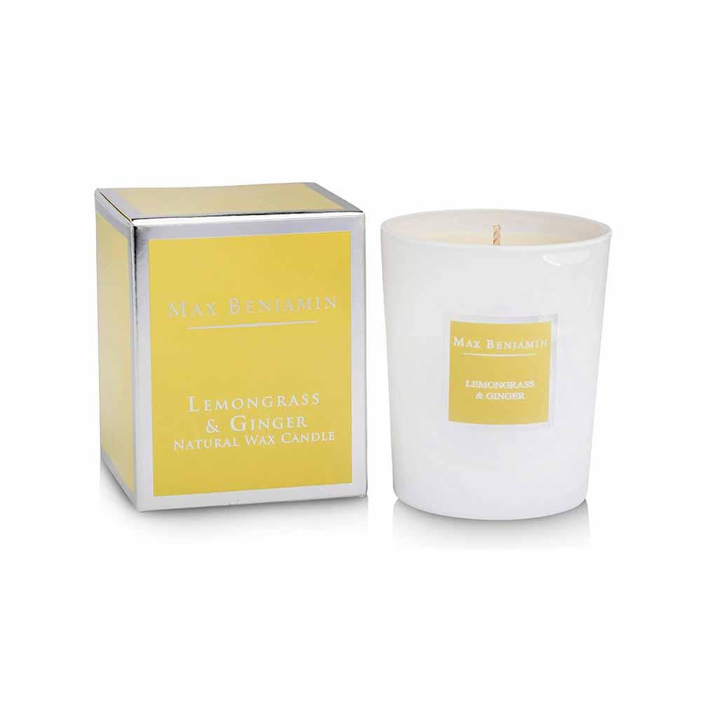 Αρωματικό Κερί 125gr Max Benjamin Lemongrass & Ginger
