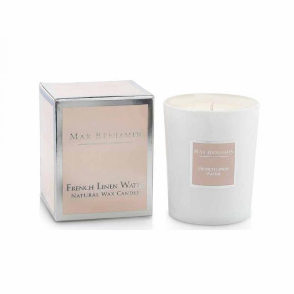 Αρωματικό Κερί 125gr Max Benjamin French Linen Water