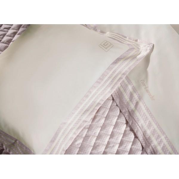 Παπλωματοθήκη Υπέρδιπλη Guy Laroche Concept Ivory-Amethyst
