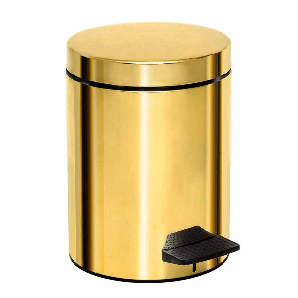Κάδος Απορριμμάτων (20x28) Pam & Co 5Lit 200 Gold