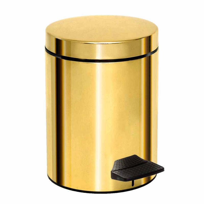 Κάδος Απορριμμάτων (20x28) PamCo 5Lit 200 Gold