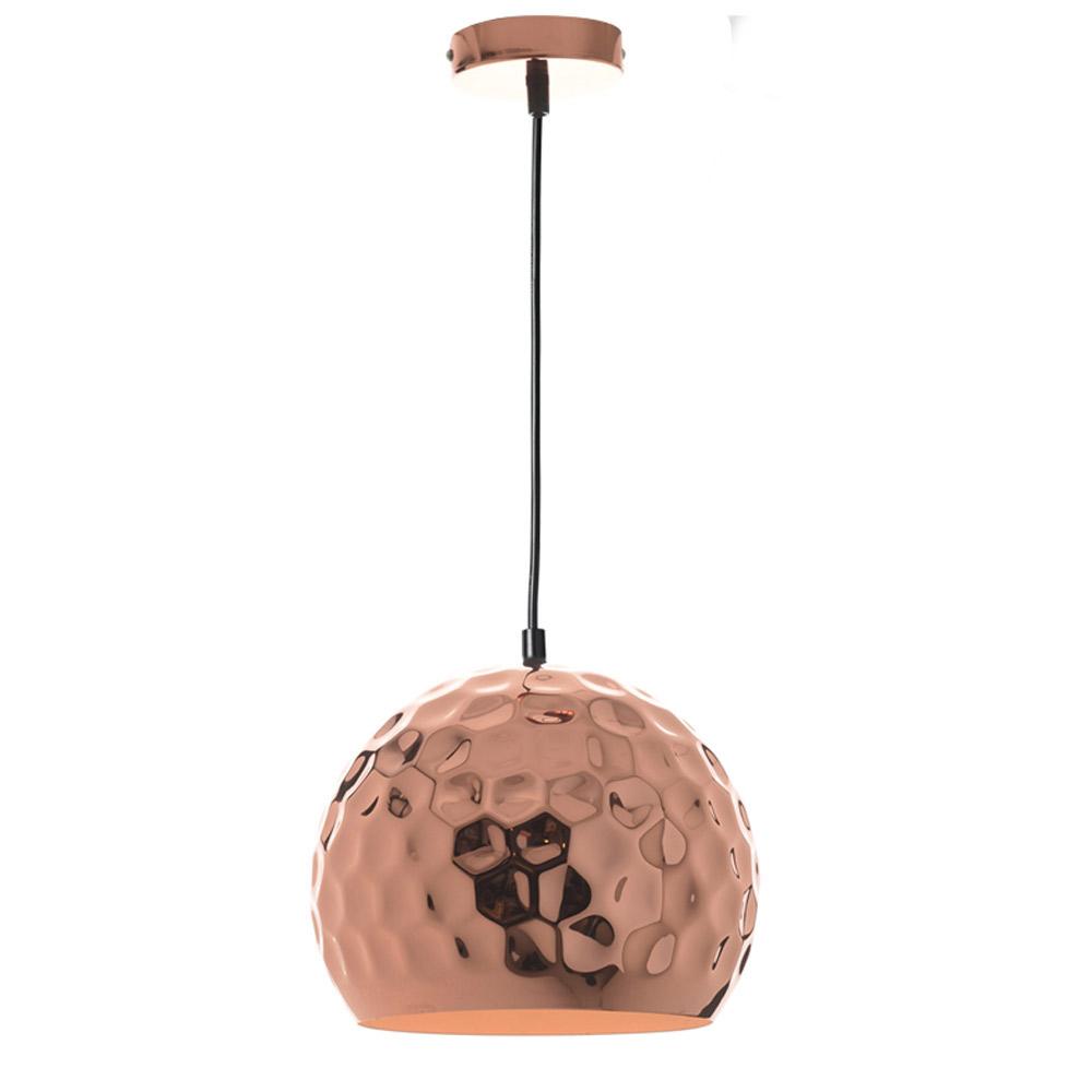 Φωτιστικό Οροφής Μονόφωτο Aca KS185725C Copper