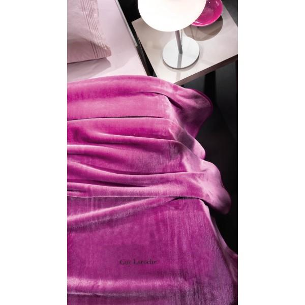 Κουβέρτα Βελουτέ Υπέρδιπλη Guy Laroche Issimo Purple