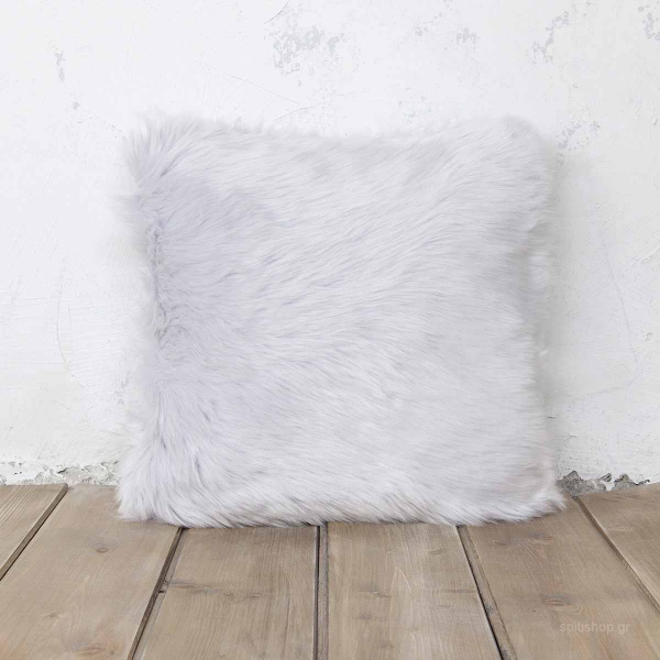 Διακοσμητικό Μαξιλάρι (45x45) Nima Throws Velvet Grey