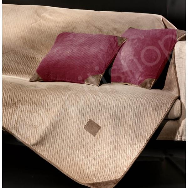 Διακοσμητική Μαξιλαροθήκη Guy Laroche Ruby Burgundy