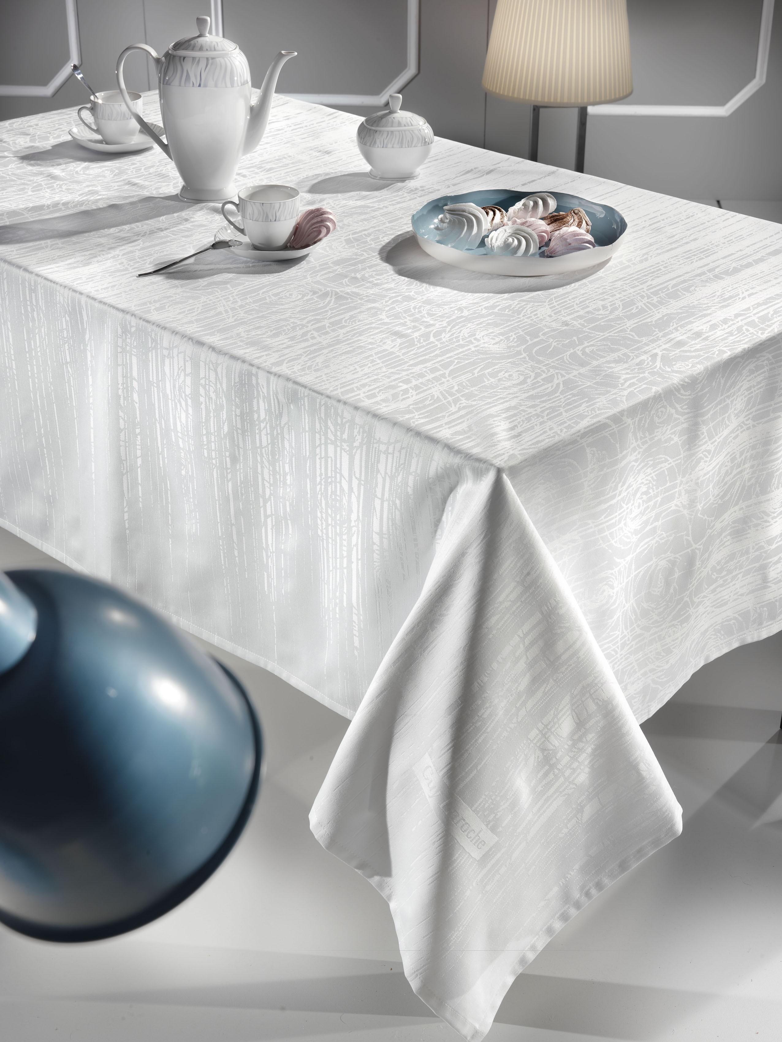 Τραπεζομάντηλο (160×250) Guy Laroche Texture White