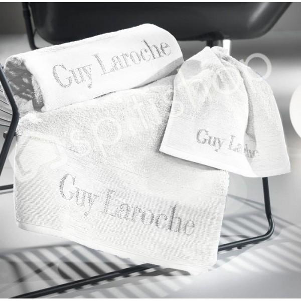Πετσέτες Μπάνιου (Σετ 3τμχ) Guy Laroche Graffiti White