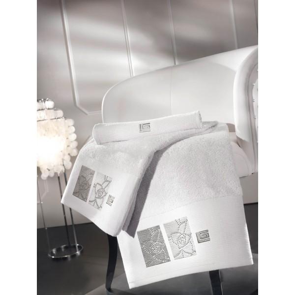 Πετσέτες Μπάνιου (Σετ 3τμχ) Guy Laroche Kylee White