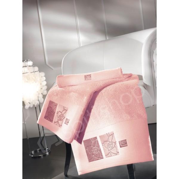 Πετσέτες Μπάνιου (Σετ 3τμχ) Guy Laroche Kylee Old Pink