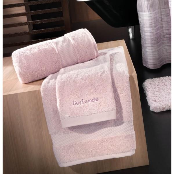 Πετσέτες Μπάνιου (Σετ 3τμχ) Guy Laroche Falk Pink