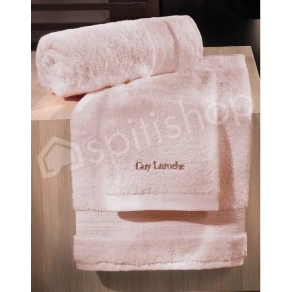 Πετσέτες Μπάνιου (Σετ 3τμχ) Guy Laroche Tartan Pink