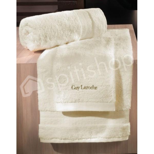 Πετσέτες Μπάνιου (Σετ 3τμχ) Guy Laroche Tartan Cream