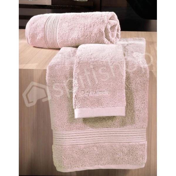 Πετσέτες Μπάνιου (Σετ 3τμχ) Guy Laroche Siam Pink