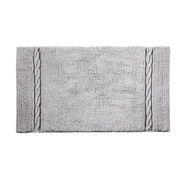 Πατάκι Μπάνιου (50x90) Guy Laroche Knot Silver