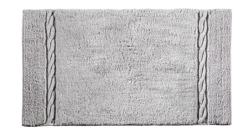 Πατάκι Μπάνιου (50×90) Guy Laroche Knot Silver 29790
