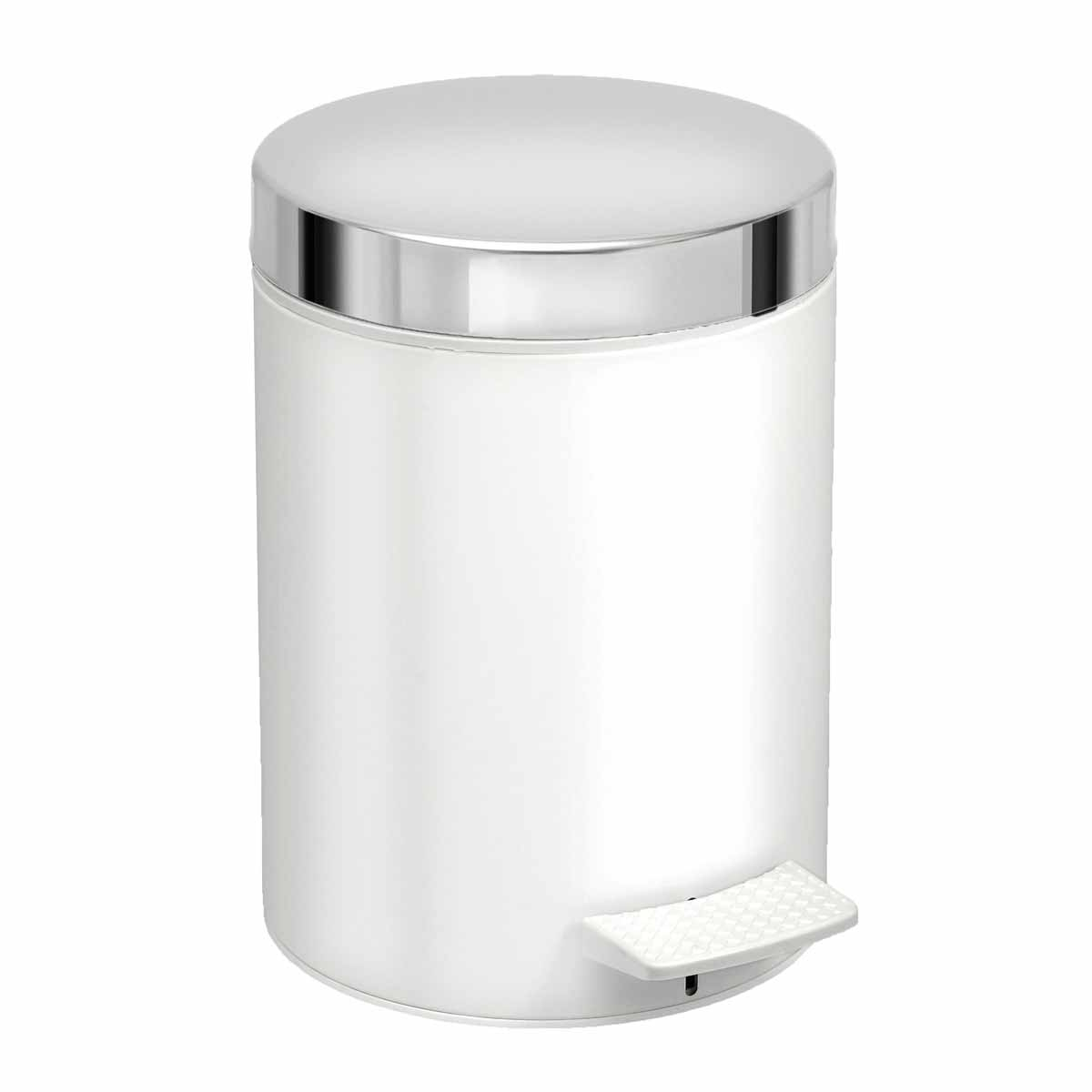 Κάδος Απορριμμάτων (20×28) PamCo 5Lit 126LE White