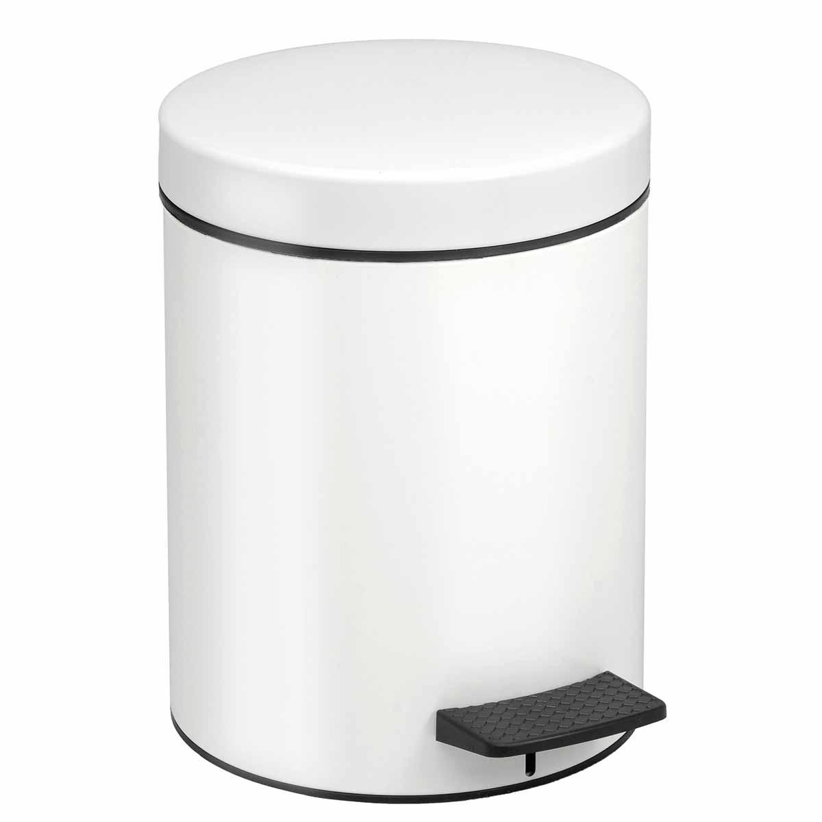 Κάδος Απορριμμάτων (23×32) PamCo 8Lit 500 White Matte